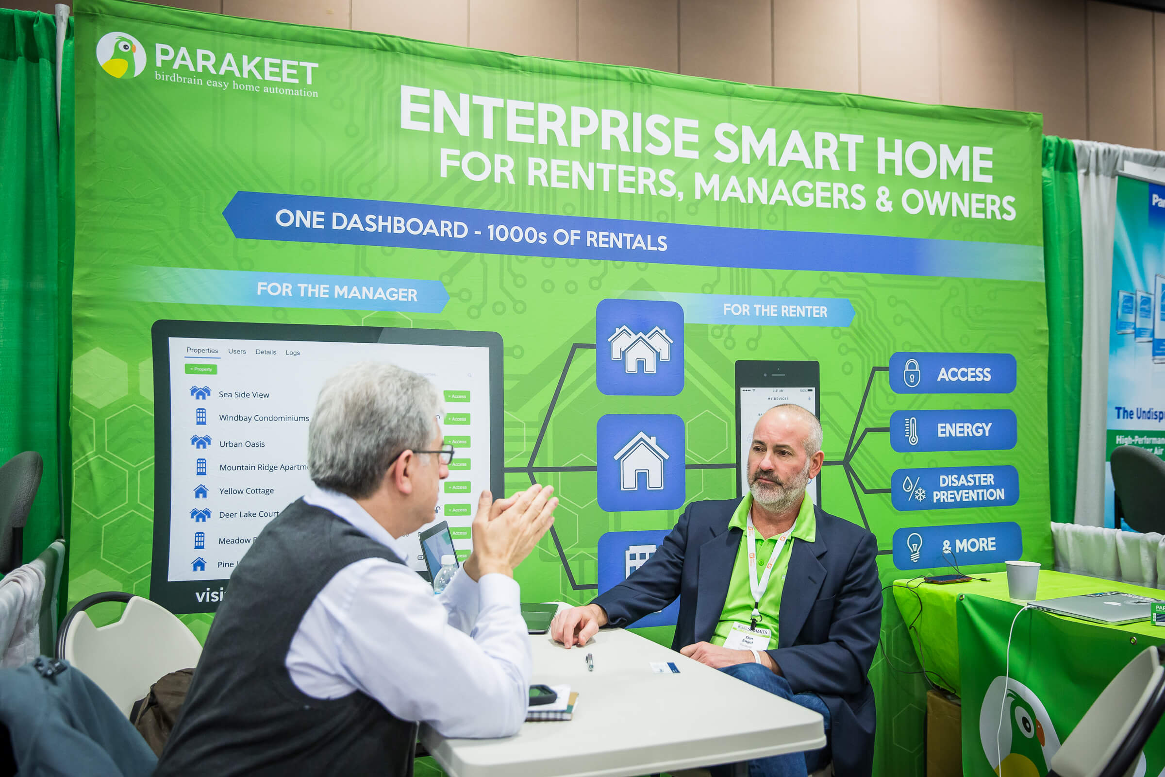After meeting with Parakeet representatives at the TecHome Builder Summit, Kromer will feature the smart home system in select apartments.
