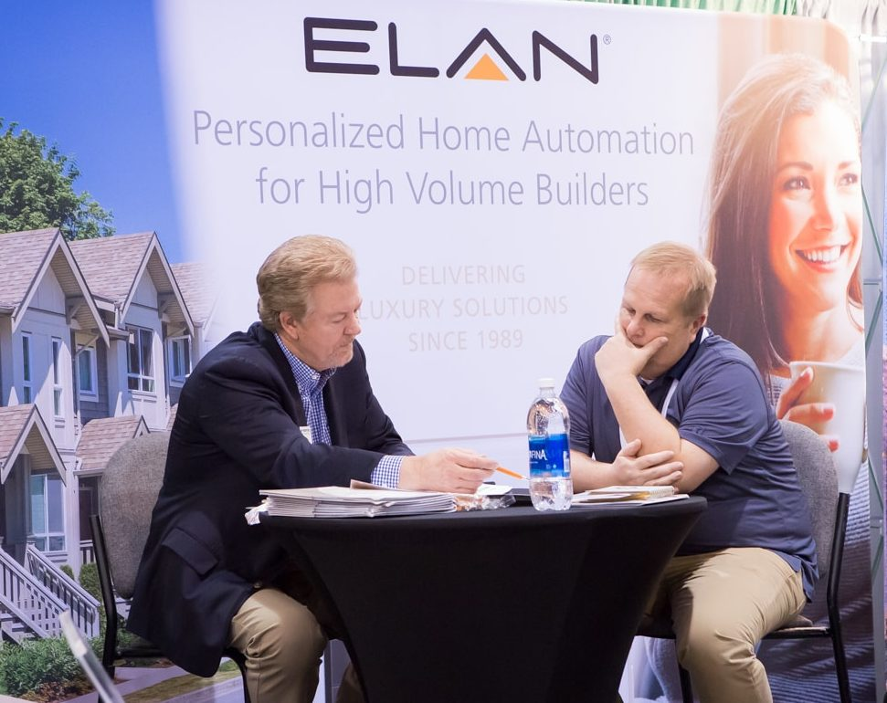 Williams became interested in ELAN and its Builder Program at the TecHome Builder Summit.